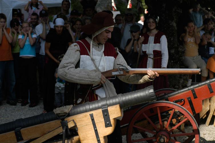 Compagnie des Quatre Lunes – Artillerie, arquebuses